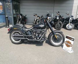 Moto Harley-Davidson Fat Boy S 2017
