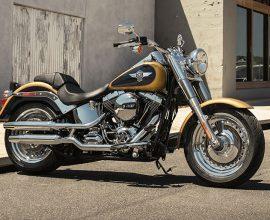 Moto Harley-Davidson Fat Boy 107 2017