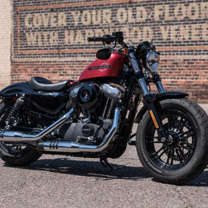 Moto Harley-Davidson Forty-Eight 2019